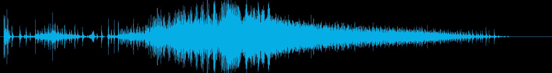 自動車;開始/アイドル/オフ。 E...の再生済みの波形