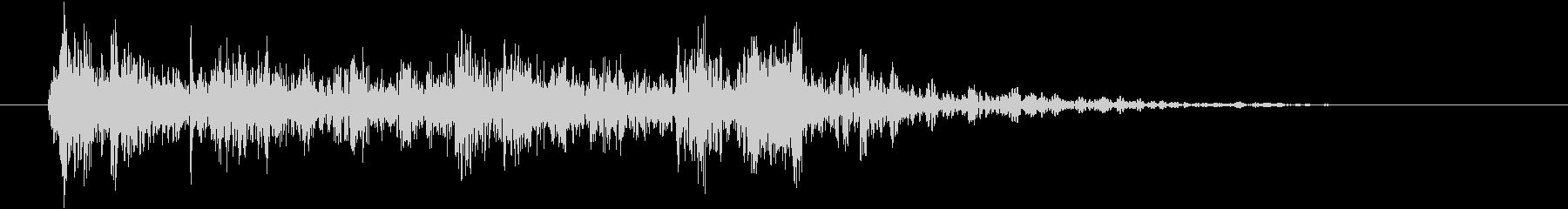 メカニカル レバーウッドラージアップ02の未再生の波形