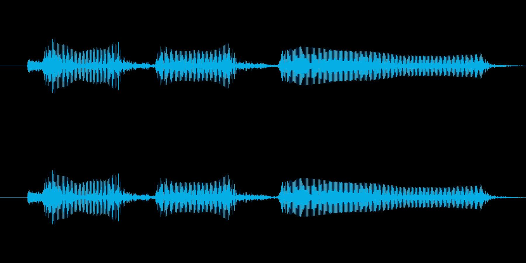 とほほ-明るめ おにいさん風の再生済みの波形