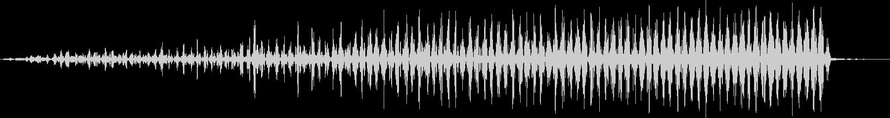 ショートレブ・フーシュ1リバース・...の未再生の波形