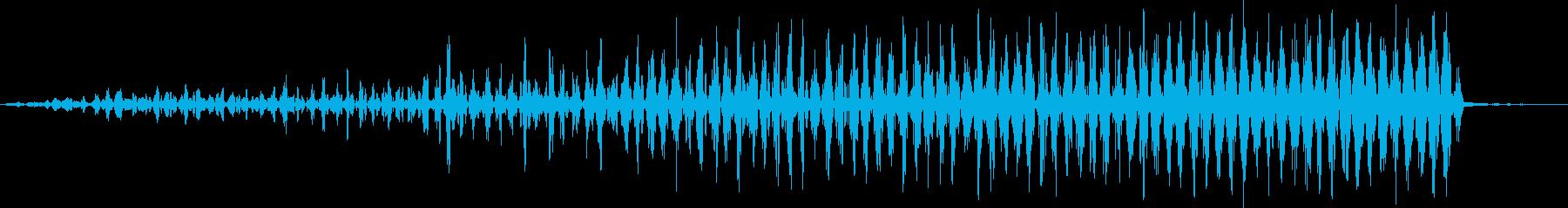 ショートレブ・フーシュ1リバース・...の再生済みの波形
