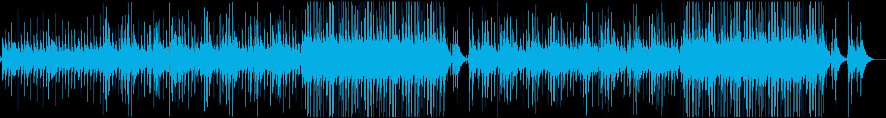 かわいい、ほのぼの、日常の再生済みの波形