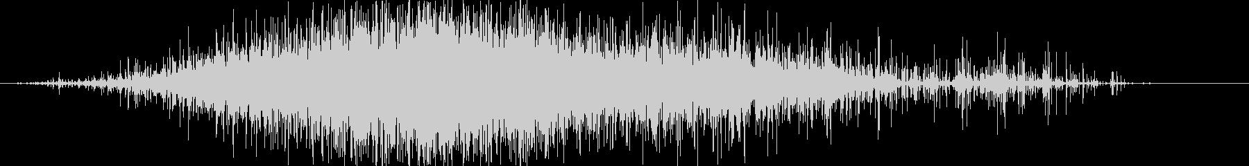 ササー(レインスティック)Aの未再生の波形