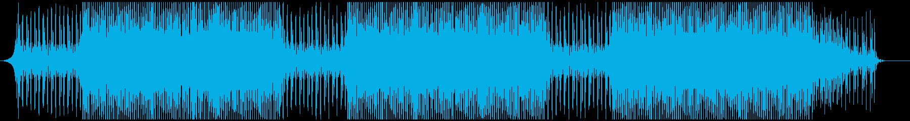 企業VP・報道番組風BGMの再生済みの波形
