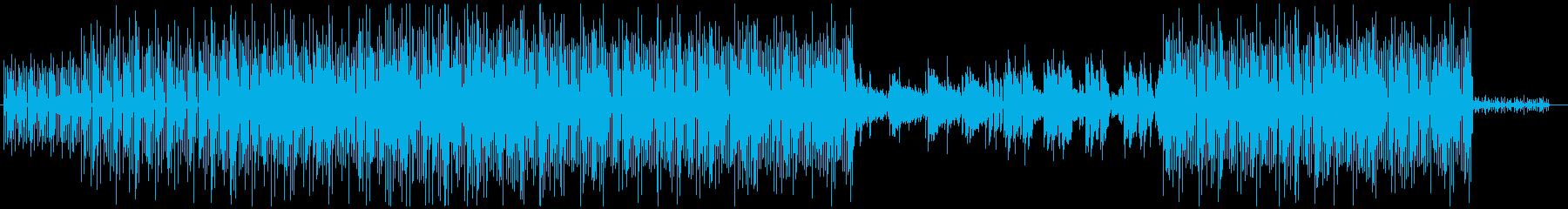 ※ドラム無 ボサノバ風キュートなエレクトの再生済みの波形
