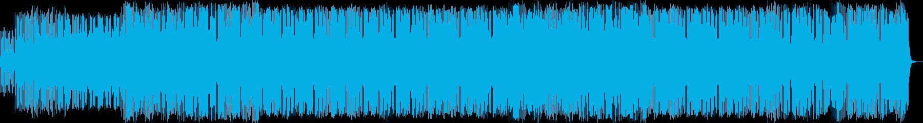 幅広いエレクトロラテンリズムのピア...の再生済みの波形