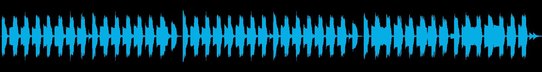 懐かしい!アーケードのリザルト風インストの再生済みの波形