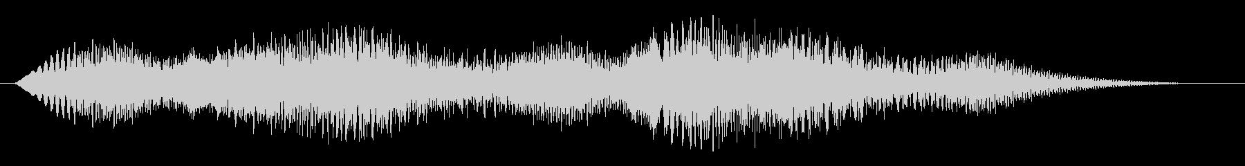 素材 揺れるドローンディープ01の未再生の波形