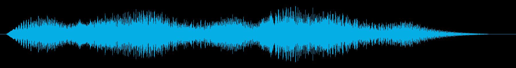 素材 揺れるドローンディープ01の再生済みの波形
