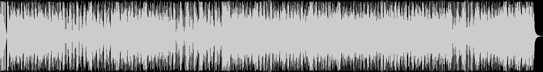 ワイルドなハードロックの未再生の波形