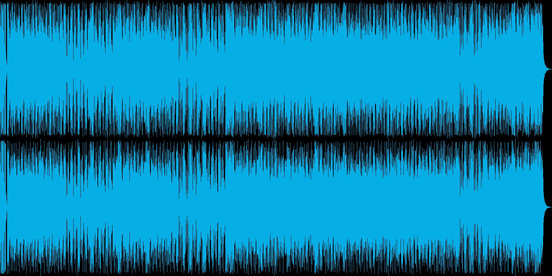 ワイルドなハードロックの再生済みの波形