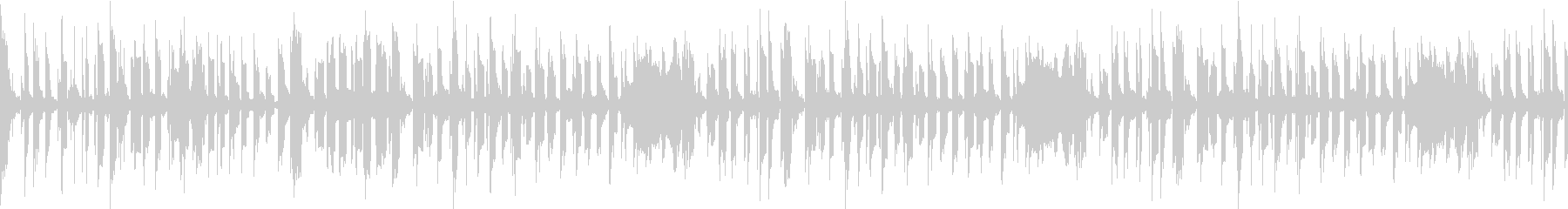 ほのぼのティータイムのようなループ曲の未再生の波形