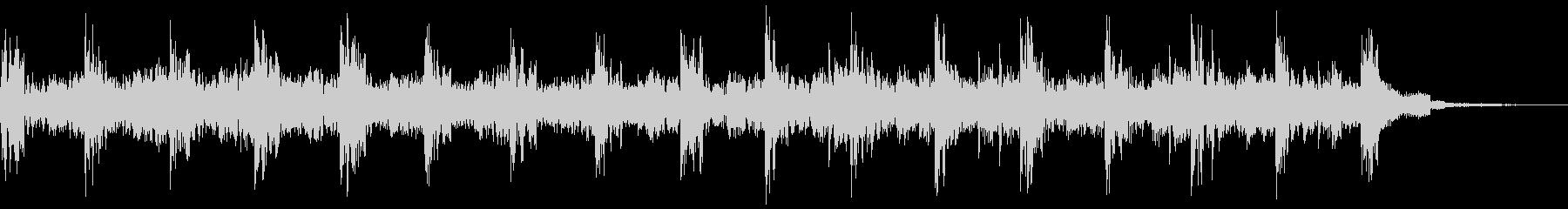 ストロボタグの未再生の波形