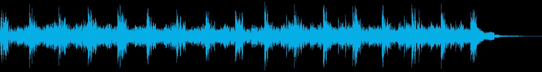 ストロボタグの再生済みの波形