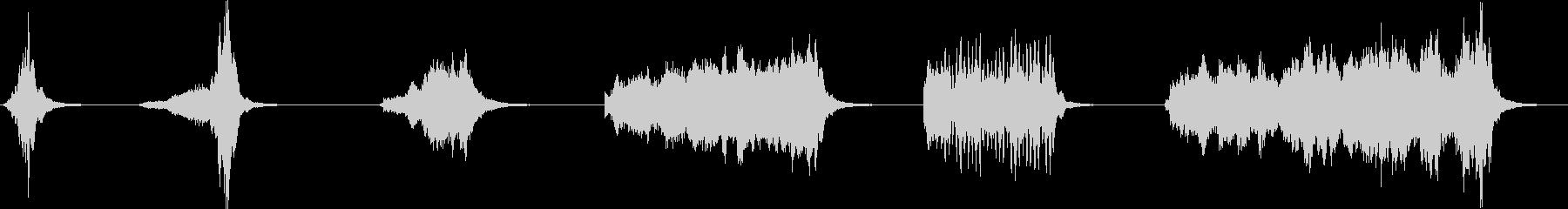 シンバル、スプラッシュ、ロール、6...の未再生の波形