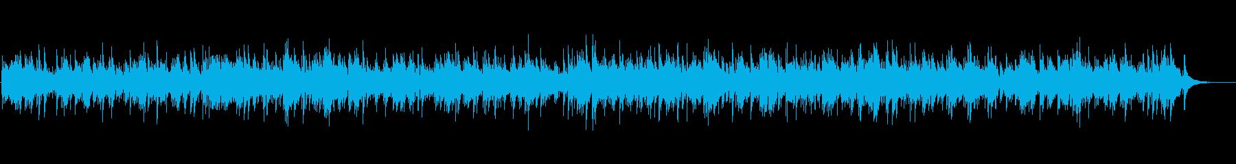 アコギの音色が優しいフォークギターデュオの再生済みの波形