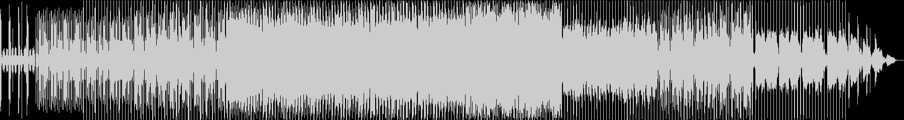 グルーヴをきかせたクールなサウンドの未再生の波形