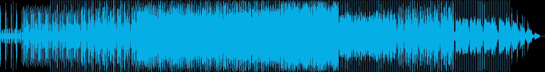 グルーヴをきかせたクールなサウンドの再生済みの波形