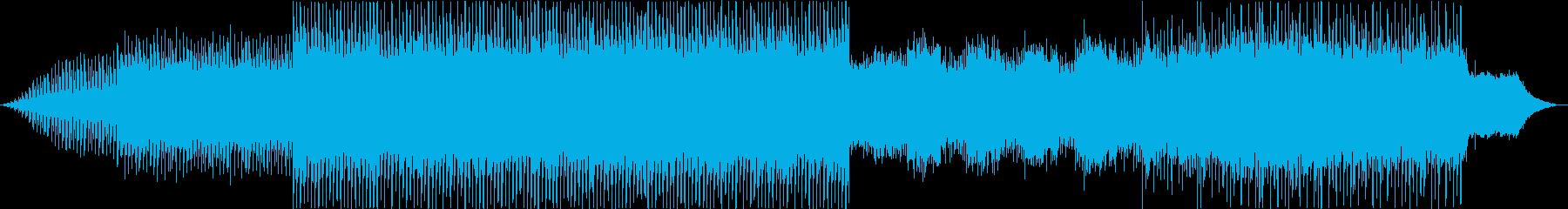 自然の環境音を取り入れたクールなBGMの再生済みの波形