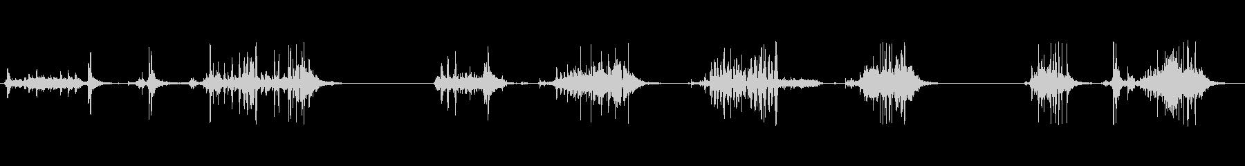 古いムービー画面:さまざまなロール...の未再生の波形