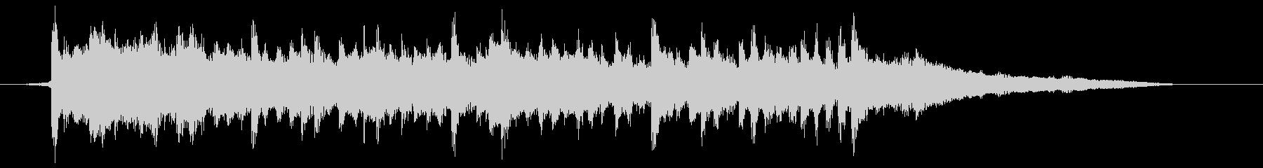 CM企業VP・30秒・明るい未来・ピアノの未再生の波形