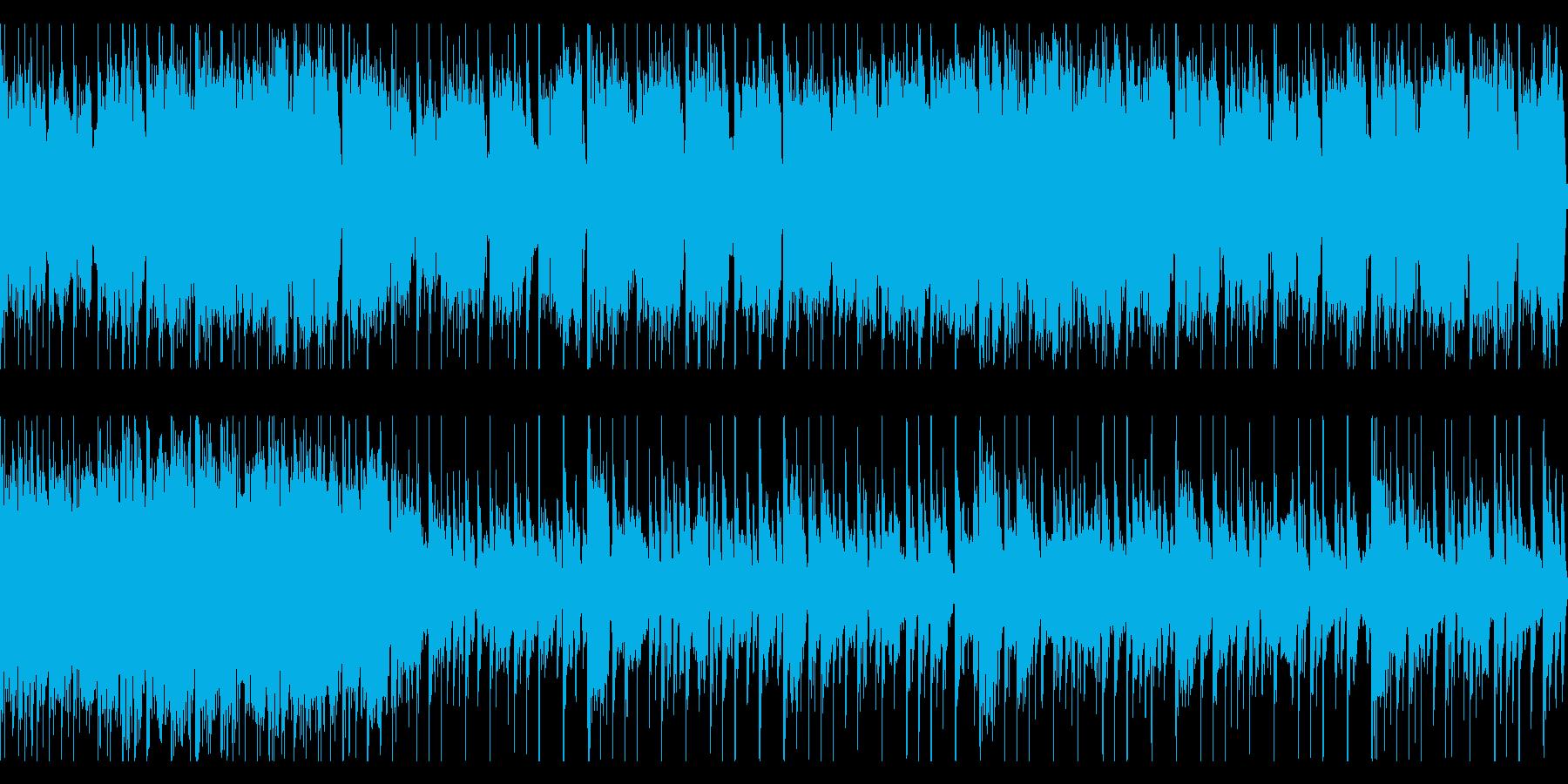 敵基地や陣地に潜入する時のBGMver3の再生済みの波形