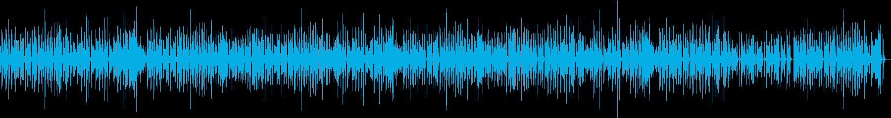 猫動画に♪ほっこりのんびりピアノBGMの再生済みの波形