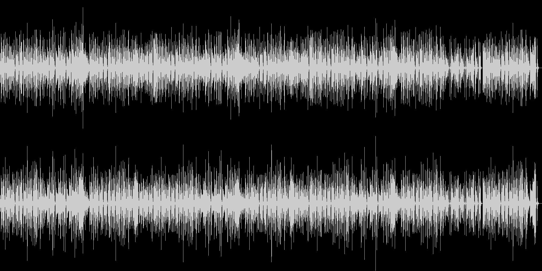 猫動画に♪ほっこりのんびりピアノBGMの未再生の波形