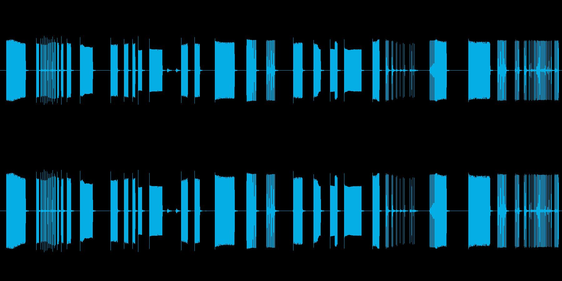 FX トーキングアーケード01の再生済みの波形