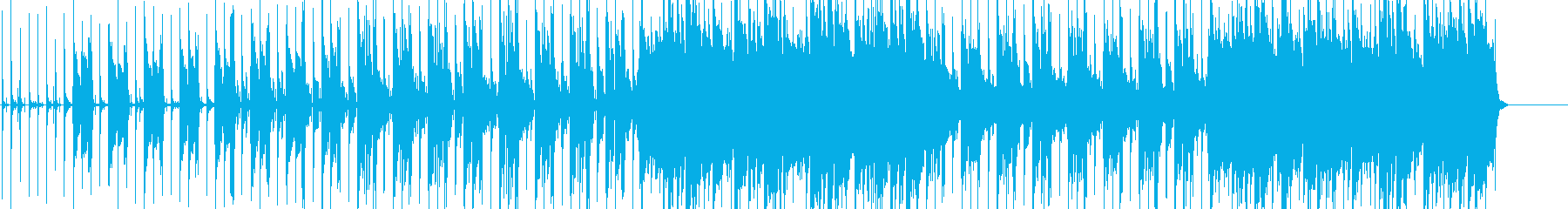 アコギメインのシンプルなポップスの再生済みの波形