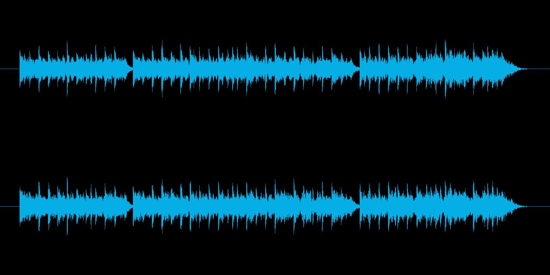 曲調はやや明るめで静か。例えば、冒険者…の再生済みの波形