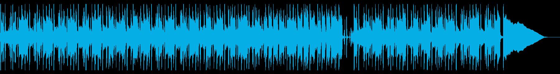 大人な雰囲気のあるかっこいいメロディーの再生済みの波形