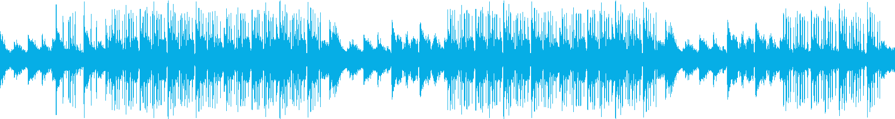 神秘的・透明感・シンセ・映像・ループの再生済みの波形