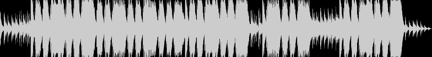疾走感のあるギタートラップサウンドの未再生の波形
