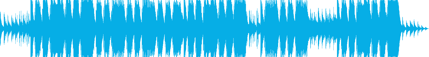 疾走感のあるギタートラップサウンドの再生済みの波形