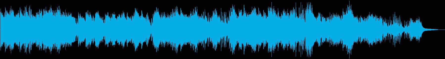 感動的で壮大な ピアノソロの再生済みの波形