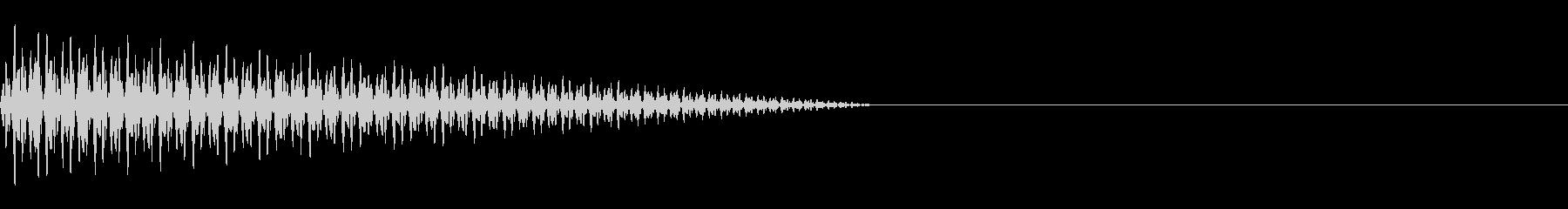 ボーワ(ジャンプ/ファミコン/落下/踏むの未再生の波形