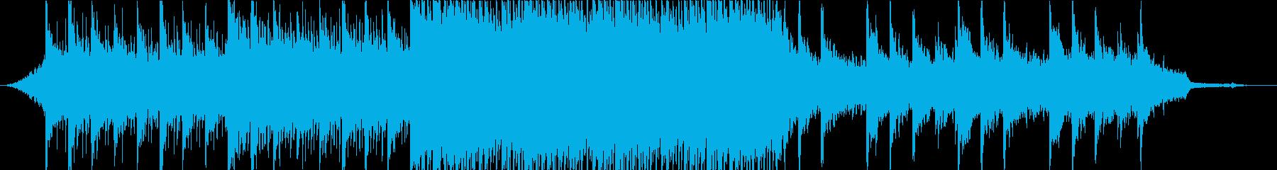 【BGM】爽やかなアップビートポップの再生済みの波形