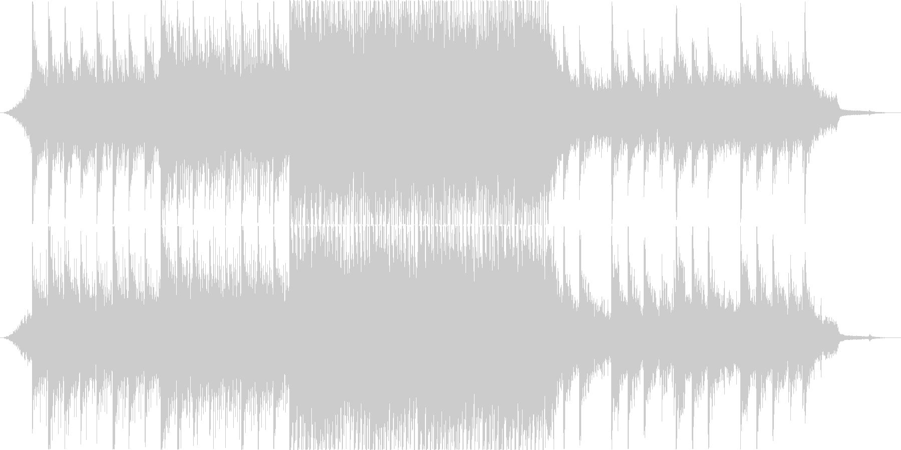 爽やかなアップビートポップ・コーポレートの未再生の波形