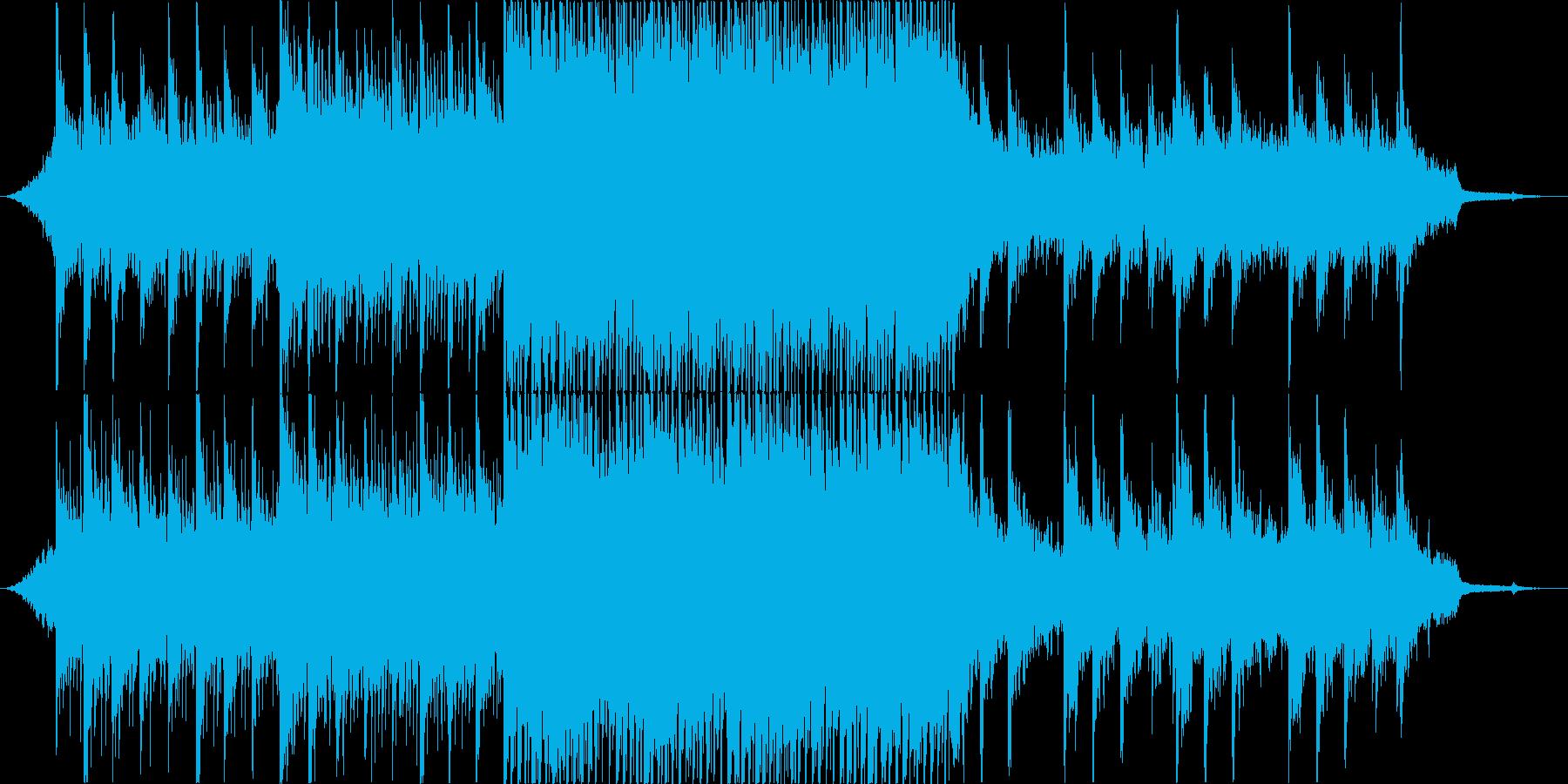 爽やかなアップビートポップ・コーポレートの再生済みの波形
