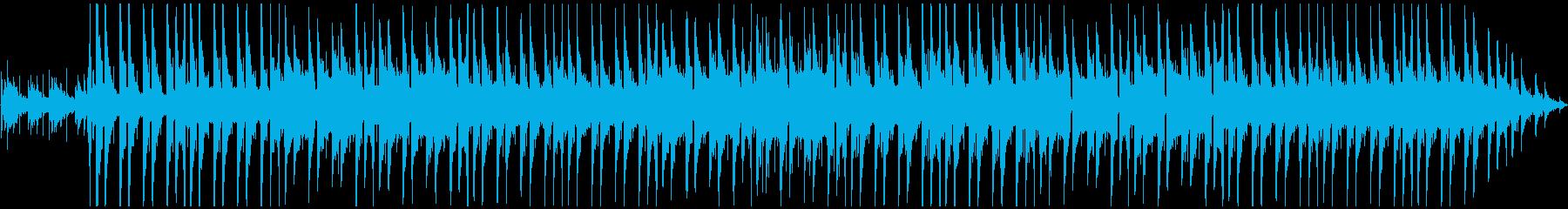 力強い、ゆったりめの曲です。の再生済みの波形