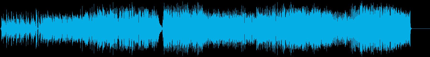 【夕暮れを歩くイメージのBGM】の再生済みの波形
