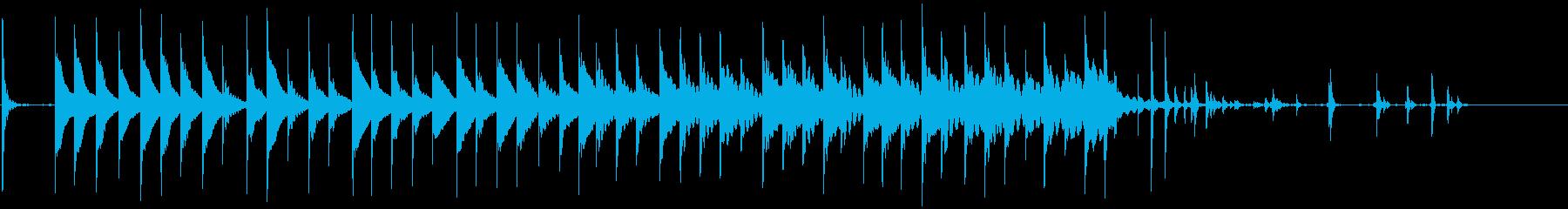 ロングパット:ボールトリックインホ...の再生済みの波形