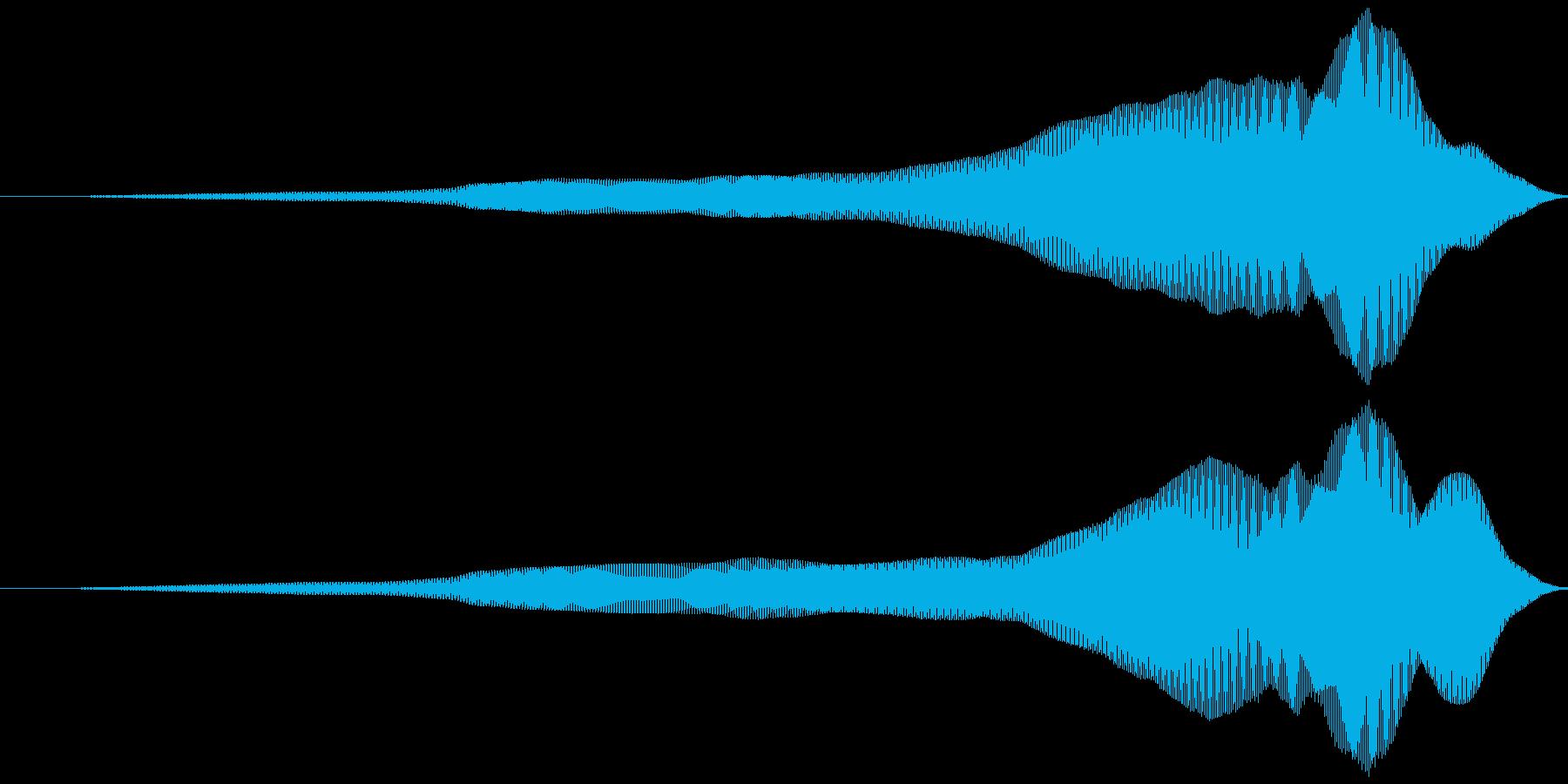 取る風 オノマトペ(上降)ヒュィッの再生済みの波形