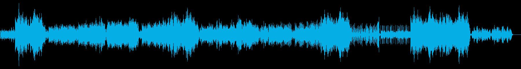 サンバ調の、明るくて楽しいクリスマス曲の再生済みの波形