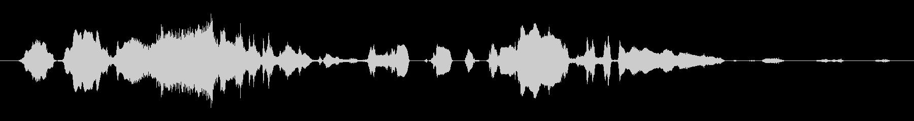 群集 大声で話す02の未再生の波形