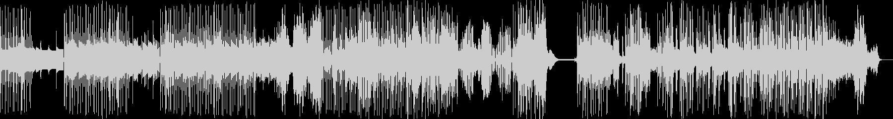 ゆったりと揺れるカリンバ・ダブの未再生の波形