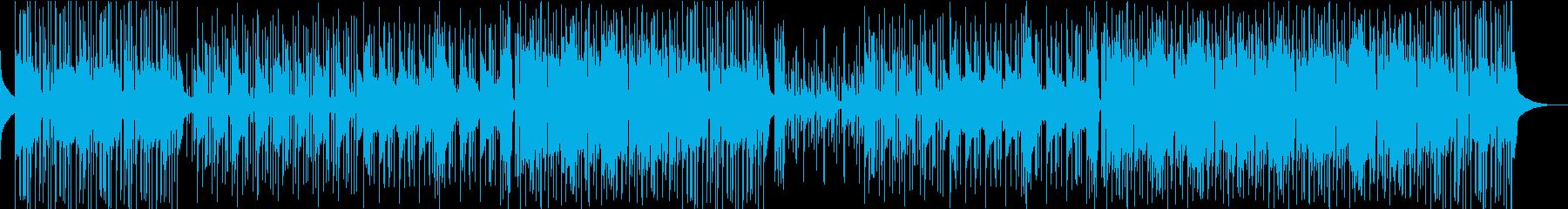 優しい、少し物悲しいインスト曲の再生済みの波形