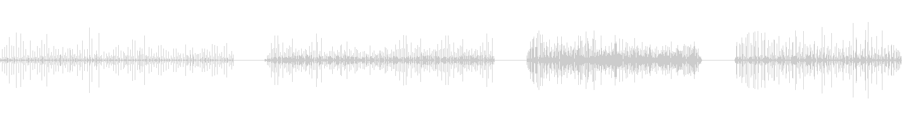 カートン、ランニング、4バージョン...の未再生の波形
