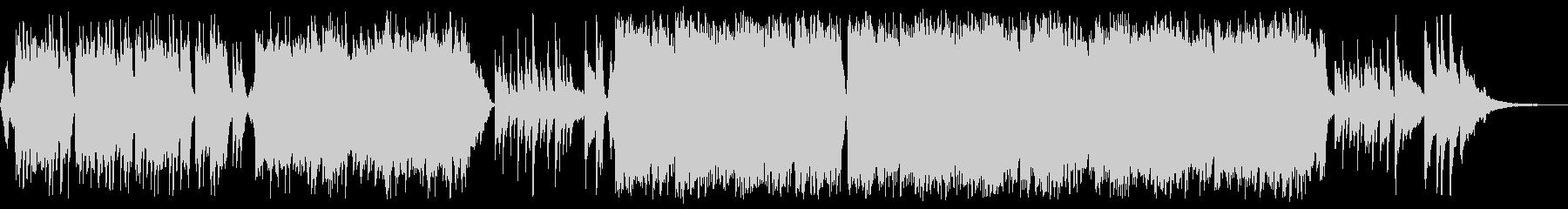 感動的な琴とチェロの和風バラードbの未再生の波形